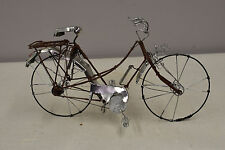 Bicycle African Recycled Tin Wire Bicycle Tanzania Tin Bicycle