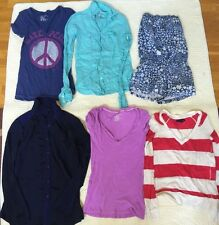 American Eagle Outfitters Mix Lot Of 6 Short/Long/Shirts OP/Shorts Women's XS