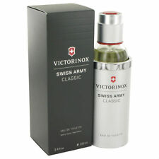 Swiss Army Classic by Victorinox Men 3.4 oz Eau de Toilette Spray In Box Sealed