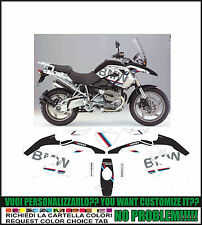 kit adesivi stickers compatibili r 1200 gs bmw motorrad replica 2008 2012