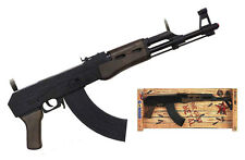 AK-47 PISTOL Toy SBR machine Cap Gun Assault Rifle Weapon Military metal costume