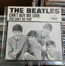THE BEATLES Can't Buy Me Love 45 w/Picture Sleeve RARE nice shape