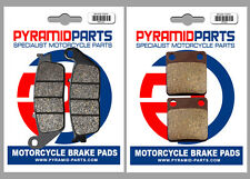 Daelim 125 S2 2006 Front & Rear Brake Pads Full Set (2 Pairs)
