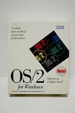 OS/2 2.1 for Windows 3.1 IBM PC 386 486 Operating System Software