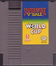 SUPER SPIKE V'BALL/WORLD CUP SOCCER 2 GAMES IN 1 NINTENDO GAME SYSTEM NES HQ