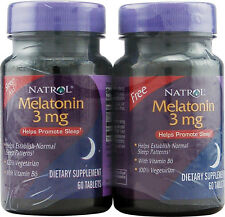 Melatonin Twin Pack, Natrol, 120 tablet