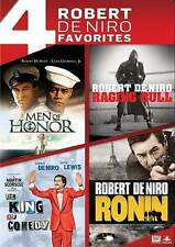 Robert DeNiro 4 FILMS: Raging/King Com/Ronin/Men Honor (DVD: 4-Disc) New; Sealed