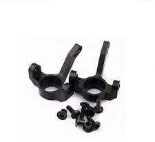 Aluminum Front RC Black Knuckle Arm Uprights For AXIAL 1:10 SCX10 Upgrade Parts