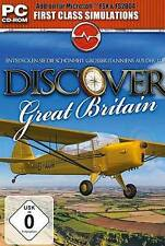 DISCOVER GREAT BRITAIN ENGLAND ADDON für Microsoft Flight Simulator X 2004 NEU