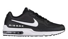 Nike Air Max LTD 3 Mens 687977-009 Black White Leather Running Shoes Size 10