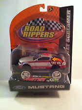 Toy State Road Rippers Street Screamer Ford Mustang GT MIB New 2006 Silver