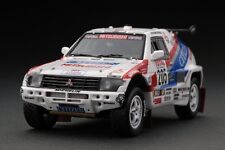 RARE! HPI #8881 Mitsubishi Pajero (#205) 92 Paris-Dakar Rally 1/43 Resin Model