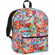 Nail Head Snack Pop Backpack Nailhead School Bag Junk Food NEW 16""