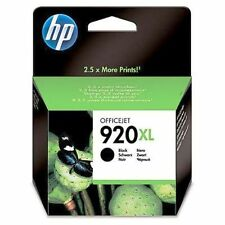 ORIGINAL & BOXED HP920XL / CD975A BLACK INK CARTRIDGE - SWIFTLY POSTED