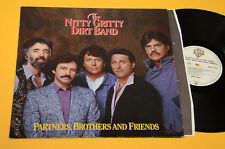 NITTY GRITTY DIRT BAND LP PARTNERS BROTHERS AND FRIEND ORIG GERMANY 1985 EX+ AUD