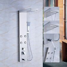Waterfall Rain Shower Column Massage Jets Sprayer Shower Panel Tub Hand Shower