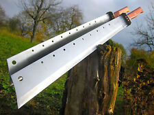 2 pezzi mostro gigante XXL due mano machete 78 cm Big COLTELLO Couteau Top m038