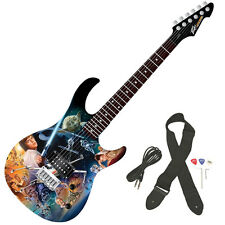 Peavey Star Wars Classic Collage Rockmaster Full Size 21 Fret Electric Guitar