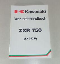 Werkstatthandbuch / Workshop Manual Kawasaki ZXR 750 von 1989