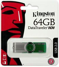 Kingston - 64GB DataTraveler USB 2.0 Flash Drive 64GB
