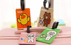 New Bear Silicone Travel Luggage Tags Baggage Suitcase Bag Labels Name Address
