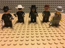 Lego Bundle Genuine Cowboy mini Figs Lone Ranger Job Lot Western Guns 5
