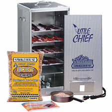 Smokehouse 9900-000-000 Aluminum Front Loading Little Chief Smoker Luhr Jensen