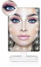 Light Make Up Mirror,Makeup Mirror With Removable 10x Magnifying Mirror Lighted
