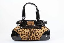 Dolce & Gabbana Leopard Purse Handbag Shoulder Bag