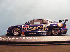 Mercedes Benz CLK DTM  2001 1:43RD. SCALE MINICHAMP D.Turner