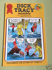 DICK TRACY - MONTHLY - BLACKTHORNE USA COMIC - #1 - JUNE 1986