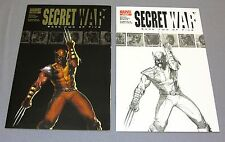 SECRET WAR #2 (Daisy Johnson, Quake 1st app) First print & Sketch variant Marvel