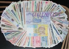 Lots 100pcs 50 countries Different paper money World Banknotes Uncirculated
