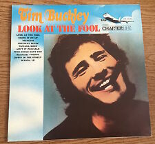 "LP VINYL 12"" TIM BUCKLEY LOOK AT THE FOOL CHARTER LINE ITALY DIFFERENT COVER"