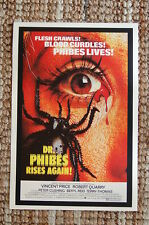 Dr. Phibes Rises Again Lobby Card Movie Poster Vincent Price