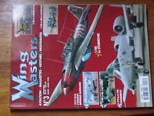 $$y Revue Wing Masters N°3 Stormovik  SBD-3 Dauntless  Curtiss H-75  A-10A Thund