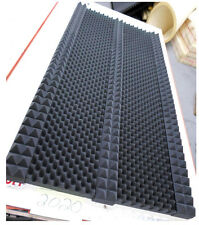"1-1/2"" Thick Studio Acoustic Soundproofing Foam Tiles 36""x 72"