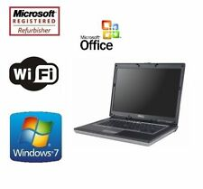 Used Dell Latitude Laptop PC 4GB 1TB Intel Dual Core Windows 7 Pro WiFi Notebook
