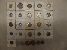 26 Different Transit Tokens Florida Denver Toledo Philadelphia United Railways