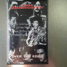 The Almighty OVER THE EDGE - UK CASSETTE TAPE