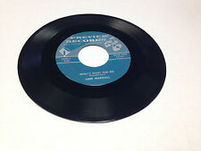 "Gene Marshall What's Right for Me/I Don't Want to Go to Heaven 7"" vinyl 45 rpm"