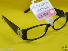 NWT $15 FOSTER GRANT DESIGNER WOMEN'S READING EYEGLASSES-2.50