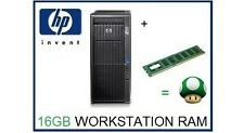 16GB (1x16GB) DDR3 ECC RDimm Memory Ram Upgrade the HP Z800 Workstation Only