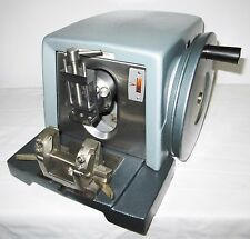 AO Spencer American Optical 820 Microtome W/ Specimen And Knife Holder - Tested