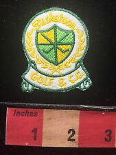 SASKATOON GOLF & COUNTRY CLUB Souvenir CANADA Patch 66E8