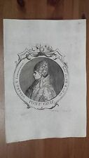1775 Efigie de Beato Papa Urbano V Pontifice Lemovicense/Frances, Benedictino