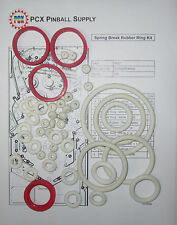 1987 Gottlieb/Premier Spring Break Pinball Machine Rubber Ring Kit