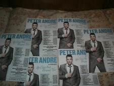 PETER ANDRE,2012 UP CLOSE AND PERSONAL TOUR,6 X TOUR FLYERS
