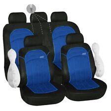 Housse pour siege de voiture fractionnable bleu et noir GT3 ouverture 2/3 1/3