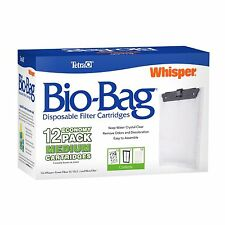 Tetra 26160 Whisper Bio-Bag Cartridge, Unassembled, Medium, 12-Pack, New